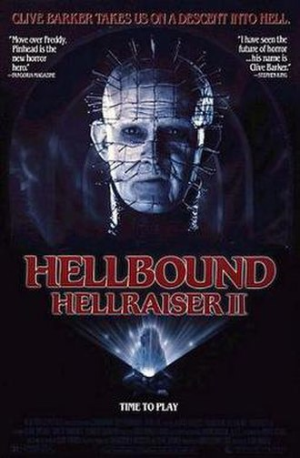 Hellbound: Hellraiser II - Image: Hellbound hellraiser ii ver 2