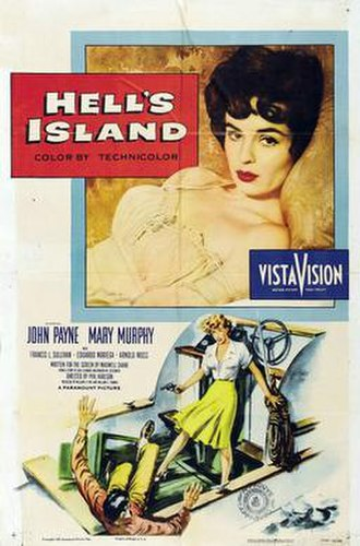 Hell's Island - Theatrical release poster
