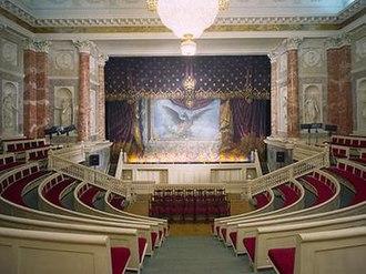 Hermitage Theatre - Interior of the Hermitage Theatre