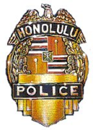 Honolulu Police Department - Image: Honolulupoliceshield