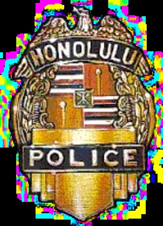Honolulu Police Department - Image: Honolulupoliceshield