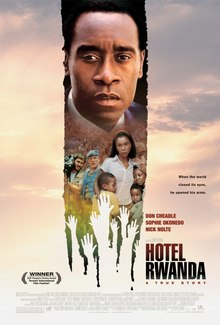 Hotel Rwanda (In Hindi) SL DM - Don Cheadle, Sophie Okonedo, Joaquin Phoenix, Nick Nolte