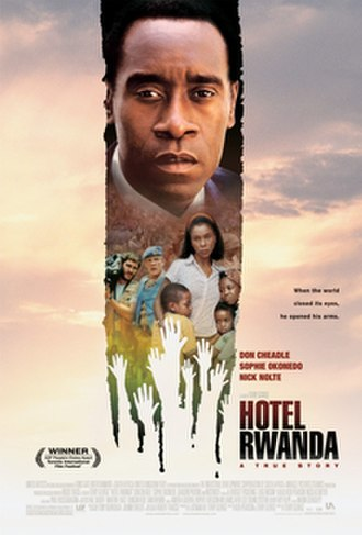 Hotel Rwanda - Theatrical release poster