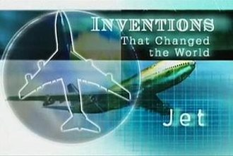 Inventions That Changed the World - Each opening title is relevant to its subject matter, in this case the Jet