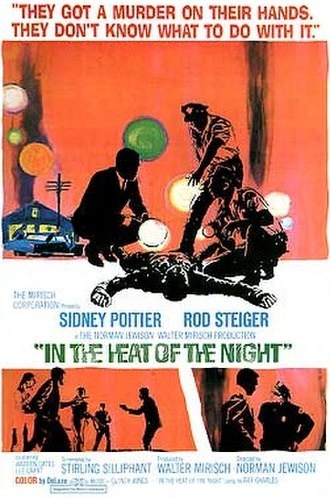 In the Heat of the Night (film) - Theatrical release poster