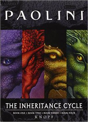 Inheritance Cycle - Cover of The Inheritance Cycle collection