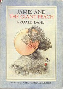 James and the Giant Peach {image source: wikipedia}
