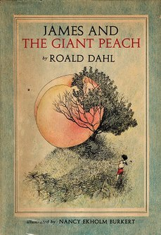 <i>James and the Giant Peach</i> 1961 childrens book by Roald Dahl