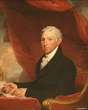 1824 State of the Union Address - Image: James monroe, 1824