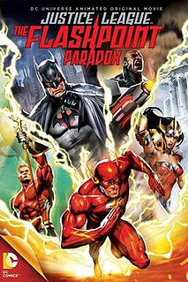 <i>Justice League: The Flashpoint Paradox</i> 2011 animated film directed by Jay Oliva