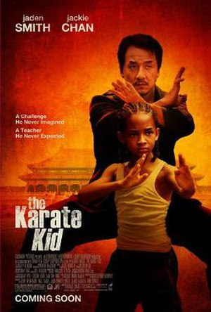 The Karate Kid (2010 film) - Theatrical release poster