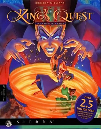 King's Quest VII - Cover art