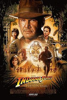 <i>Indiana Jones and the Kingdom of the Crystal Skull</i> 2008 film by Steven Spielberg
