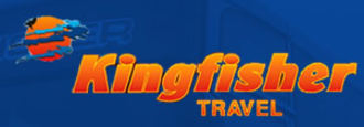 Islwyn Borough Transport - The logo for IBT's coach brand, Kingfisher Travel