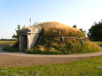 Knife River Indian Villages National Historic Site - Reconstructed Hidatsa Indian Earthlodge