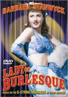 <i>Lady of Burlesque</i> 1943 film by William A. Wellman