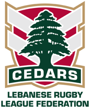 Lebanon national rugby league team - Image: Lebanon National RL