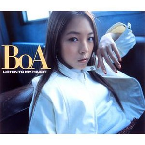 Listen to My Heart (BoA album) - Image: Listen to My Heart low