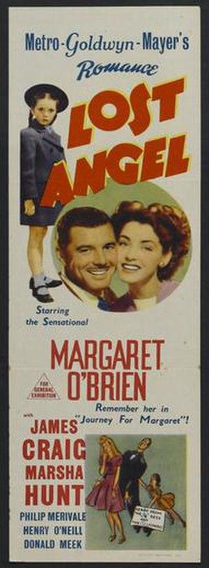 Lost Angel (film) - Australian film poster