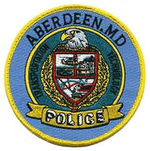 Aberdeen Police Department (Maryland) - Image: MD Aberdeen Police