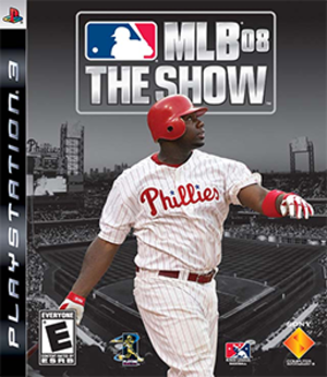 MLB 08: The Show - Image: MLB 08 The Show Coverart