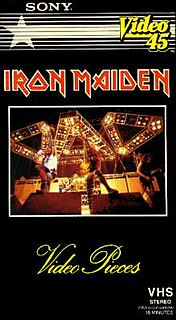 <i>Video Pieces</i> 1983 video by Iron Maiden