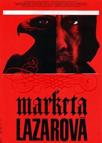 Marketa Lazarová - Image: Marketa Lazarova film poster 1967 Czech film