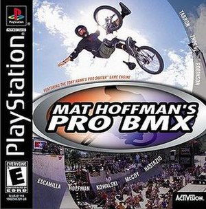 Mat Hoffman's Pro BMX - North American Playstation cover art