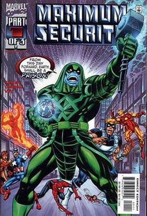 Maximum Security (comics) - Image: Maximum Security 1
