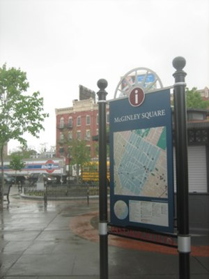McGinley Square - View of McGinley Square