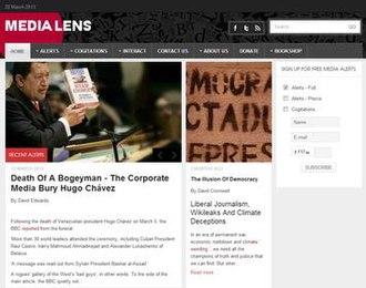 Media Lens - Media Lens Home Page