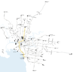 Melbourne trams route 96 map.png