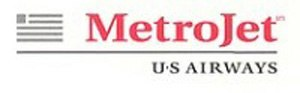 MetroJet (American airline) - Image: Metro Jet (American airline) Logo