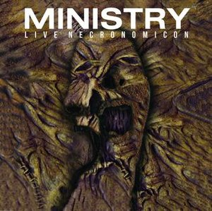 In Case You Didn't Feel Like Showing Up - Image: Ministry Live Necronomicon