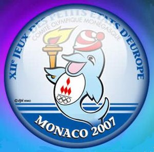2007 Games of the Small States of Europe - Image: Monaco logo 2