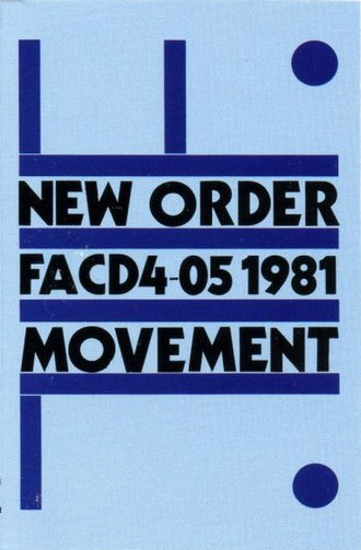 Movement (New Order album) - Image: Movement by New Order Canadian cassette 1981