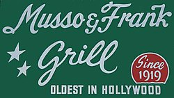 Musso frank grill wikipedia - Musso and frank grill hollywood ...