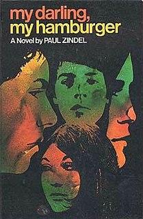 <i>My Darling, My Hamburger</i> novel by Paul Zindel