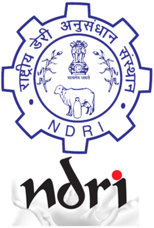 National Dairy Research Institute - Image: National Dairy Research Institute Logo
