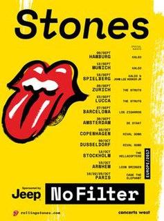 No Filter Tour 2017– Rolling Stones concert tour