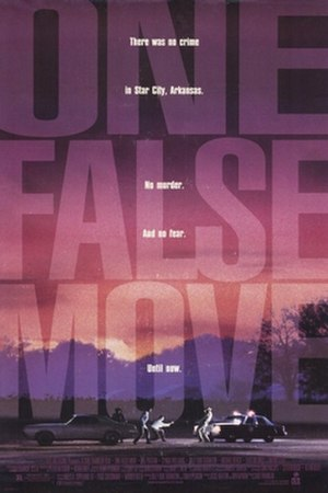 One False Move - Theatrical release poster