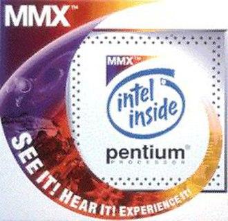 MMX (instruction set) - Pentium with MMX