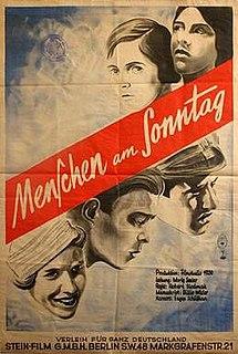 <i>People on Sunday</i> 1930 film
