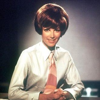 Petra Schürmann - Schürmann as an announcer for the Bayerischer Rundfunk, in the 1960s