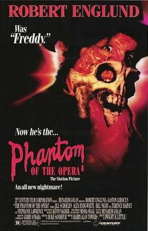The Phantom of the Opera (1989 film) - Theatrical release poster