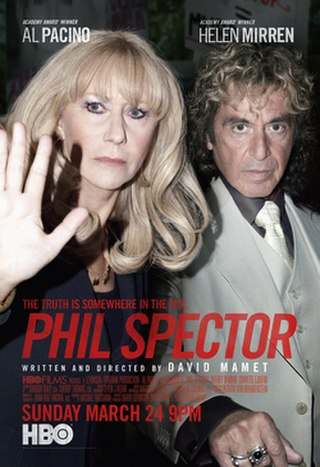<i>Phil Spector</i> (film) 2013 biographical television film directed by David Mamet