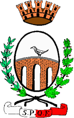 Coat of arms of Sweden - Image: Pontecorvo Stemma