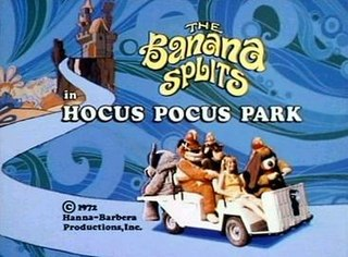 <i>The Banana Splits in Hocus Pocus Park</i> 1972 film by William Hanna
