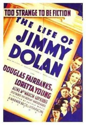 The Life of Jimmy Dolan - Theatrical release poster