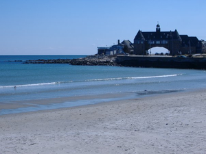 Narragansett Towers and Narragansett Town Beac...